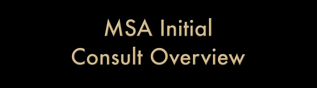 MSA Initial Consult Overview – Jack Meligan Founder of THE PLAINTIFF'S MSA AND LIEN SOLUTION